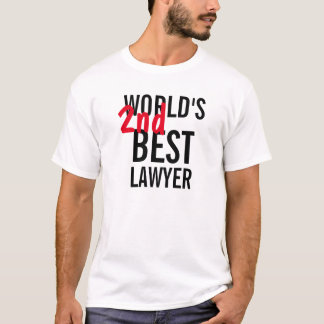 World's 2nd best lawyer T-Shirt