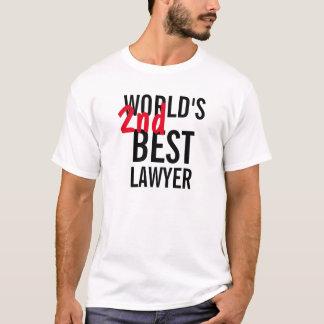 World's 2nd best lawyer T-Shirt