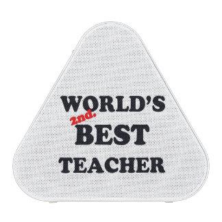 World's 2nd. Best Teacher Bluetooth Speaker
