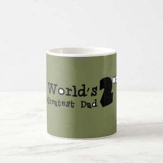 World's 2nd Greatest Dad Father's Day Mug