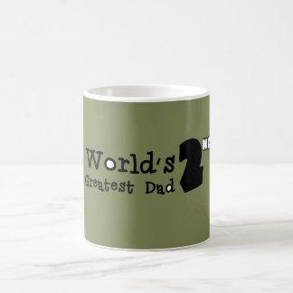 World's 2nd Greatest Dad Father's Day Mug