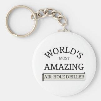 World's amazing air-hose driller keychain