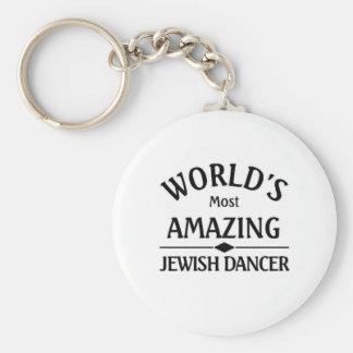 World's amazing Jewish Dancer Key Chain