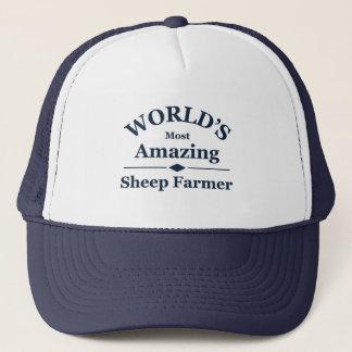 World's amazing Sheep Farmer Trucker Hat