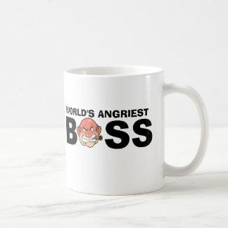 World's Angriest Boss Coffee Mug