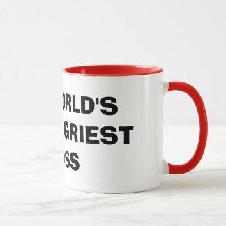 World's Angriest Boss Mug