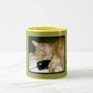 Worlds Apart... close at heart Two-Tone Coffee Mug