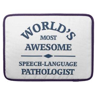 World's awesome Speech-language pathologist MacBook Pro Sleeve