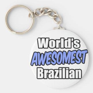 World's Awesomest Brazilian Key Chains