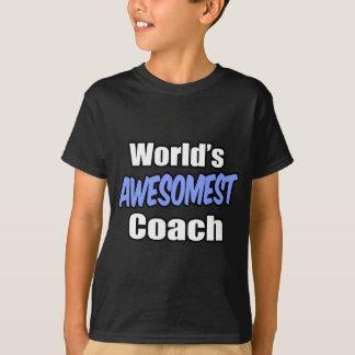 World's Awesomest Coach T-Shirt