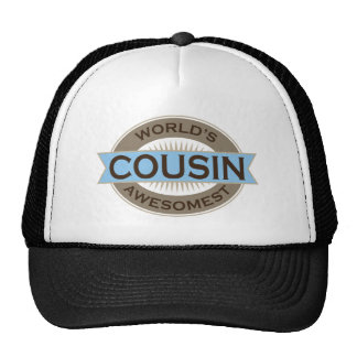 Worlds Awesomest Cousin Trucker Hat