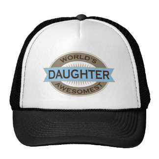 Worlds Awesomest Daughter Trucker Hat