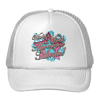 Worlds Awesomest Mom Trucker Hat