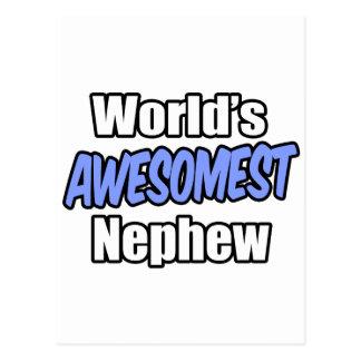 World's Awesomest Nephew Postcard