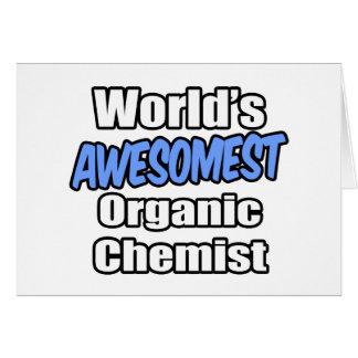 World's Awesomest Organic Chemist Cards