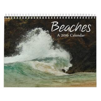 World's Beaches 2016 Calendar