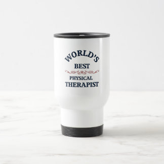 World's beat Physical Therapist Travel Mug