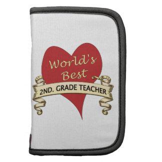 World's Best 2nd. Grade Teacher Planner