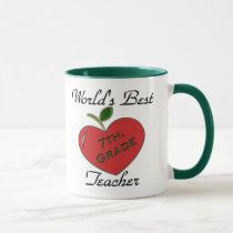 World's Best 7th. Grade Teacher Mug