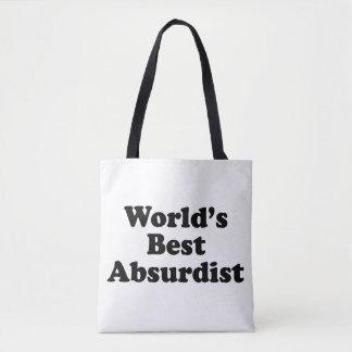 World's Best Absurdist Tote Bag