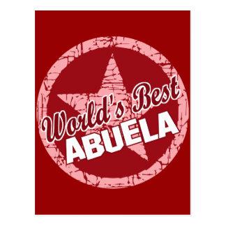 Worlds Best Abuela Postcard