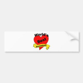 World's Best Accountant Bumper Sticker