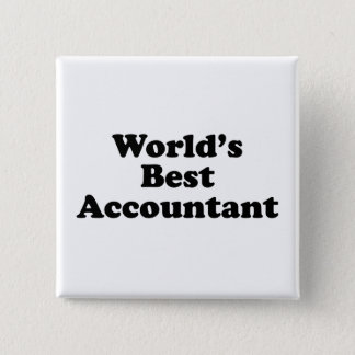 World's Best Accountant Button