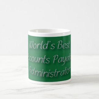 World's Best Accounts Payable Administrator Classic White Coffee Mug