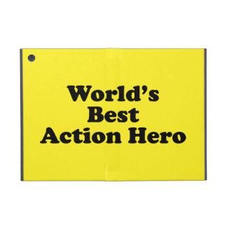 World's Best Action Hero iPad Mini Covers