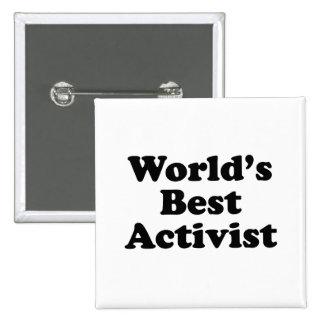 World's Best Activist Button