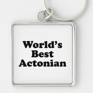 World's Best Actonian Keychain