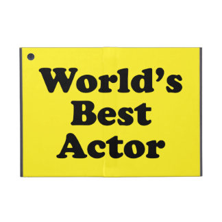 World's Best Actor Cover For iPad Mini