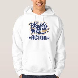 Worlds Best Actor Job Hoodie Gift