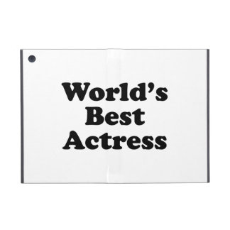 World's Best Actress Cases For iPad Mini