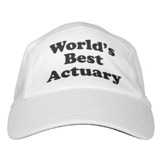 World's Best Actuary Hat