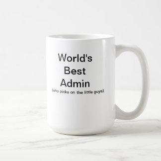 World's Best Admin Coffee Mug