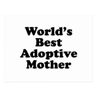 World's Best Adoptive Mother Postcard