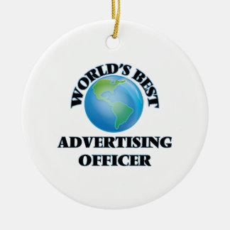 World's Best Advertising Officer Ornament