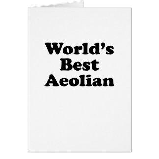 World's Best Aeolian Card