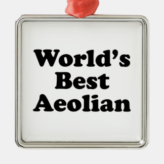 World's Best Aeolian Metal Ornament