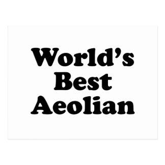 World's Best Aeolian Postcard