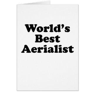 World's Best Aerialist Card