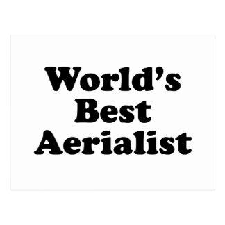 World's Best Aerialist Postcard
