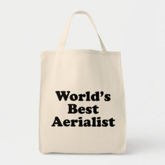 World's Best Aerialist Tote Bag