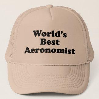 World's Best Aeronomist Trucker Hat