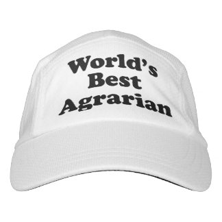 World's Best Agrarian Headsweats Hat