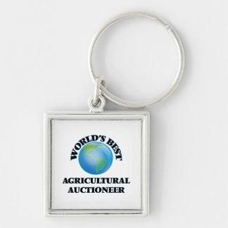 World's Best Agricultural Auctioneer Keychain