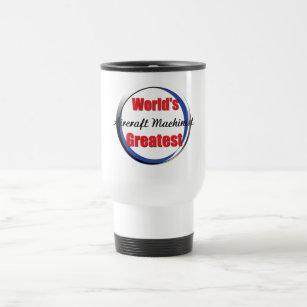 worlds best aircraft machinist travel mug