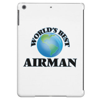 World's Best Airman Cover For iPad Air