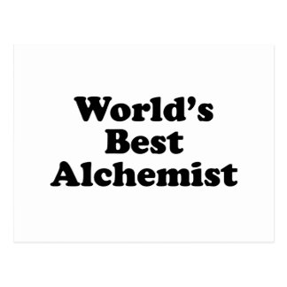 World's Best Alchemist Postcard
